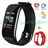 Fitness Tracker Color Screen, IP67 Waterproof Activity Tracker with Heart Rate Monitor, Sleep