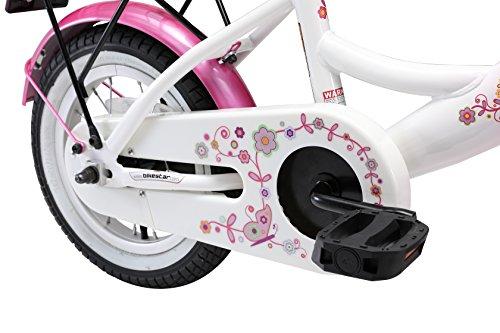 BIKESTAR Premium Sicherheits Kinderfahrrad 12 Zoll für Mädchen ab 3-4 Jahre | 12er Kinderrad Classic | Fahrrad für Kinder Pink & Weiß - 6