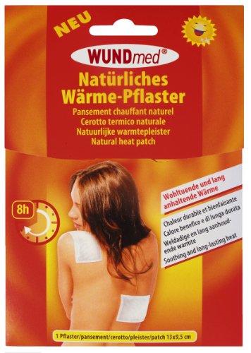 Wärmepflaster von Wundmed 13cm x 9,5cm, hält bis zu 8 Stunden Schmerzpflaster Wärmekissen Wärme-Pflaster bei Muskel- & Gelenkschmerzen (20 Stück)