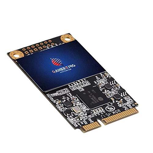 Gamerking Msata 256GB SSD Unidad de Estado sólido Interna Unidad de Disco Duro de Alto Rendimiento para computadora portátil de Escritorio SATA II 6Gb / s SSD (256G B, Msata)