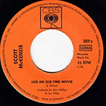 like an old time movie 45 rpm single