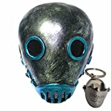 Gmasking Hellboy 1:1 Kroenen Airsoft Paintball Mask (Blue)