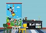 Diseño AG FCC L 4106 Cortina/Cortinas Decorativo Disney Mickey Mouse