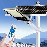 400W 800W 1200W 1500W太陽の洪水の街灯、屋外LEDの太陽光発電の洪水ライトIP65防水ポールライトセキュリティライト夕暮れの夜明け庭の通りの庭園,400w