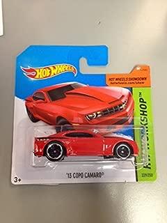 Hot wheels '13 copo camaro red rare Short Card hw workshop 229/250