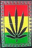 Traditional Jaipur Bob Marley psychedelische Kräuter Weed