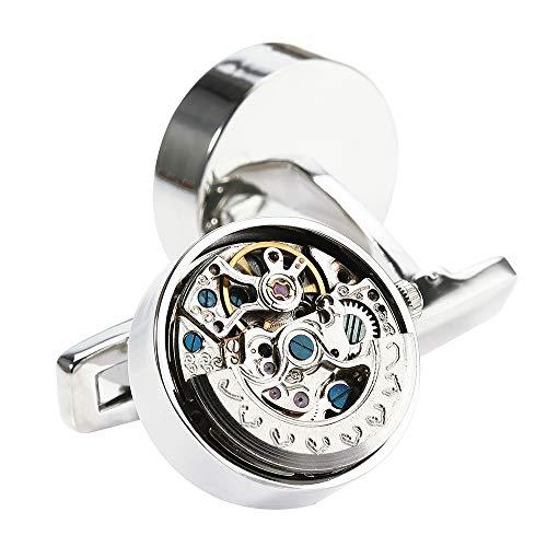 High-End-kühlen Designer-Männer mechanische Uhrwerke Manschettenknöpfe, einzigartig elegante