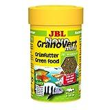 JBL 300968 Novogranovert Mini Refill Alimento Básico en Gránulos para Peces de Acuario Fitófagos, 100 ml