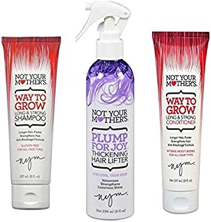 Not Your Mothers Shampoo Way To Grow (Long+Strong) 8 Ounce (235ml) (2 Pack)