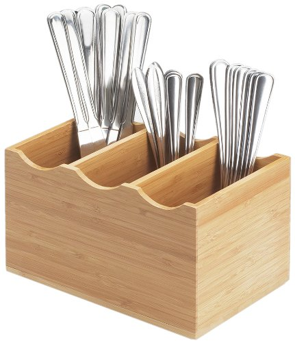 Cal-Mil 1244 Year-end gift Ranking integrated 1st place Bamboo Display Flatware