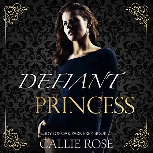 Defiant Princess audiobook cover art