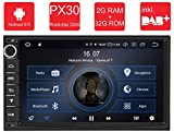 M.I.C. AU7-Lite Android 9 Autoradio Radio Navigationssystem:DAB+ digitalradio Bluetooth WLAN 7 Zoll Bildschirm 2G+32G USB sd GPS 2 DIN universal Tuning Gerät für VW Toyota KIA Nissan...