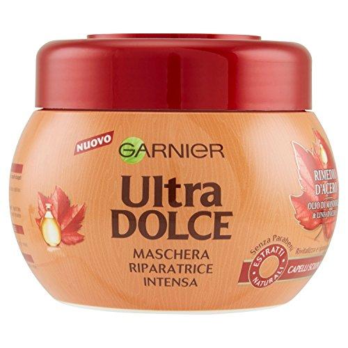 Garnier Ultra Dolce Rimedio Ahorn Balsam intensiv reparierende Spülung - 200 ml Maske