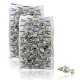 Caramelle Farbo Senza Zucchero allo Zenzero e Limone, Senza glutine, 250 gr - Lietta Light (Confezione da 2 Pezzi)