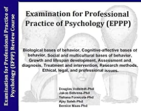 EPPP Audio Review 7 Audio CD's; 7 Hours with 4,000 Question Simulation Software; Examination for Professional Practice in Psychology Study System