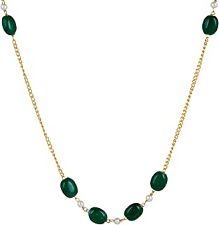 Sansar India Beads Chain Necklace for Girls and Women 1745