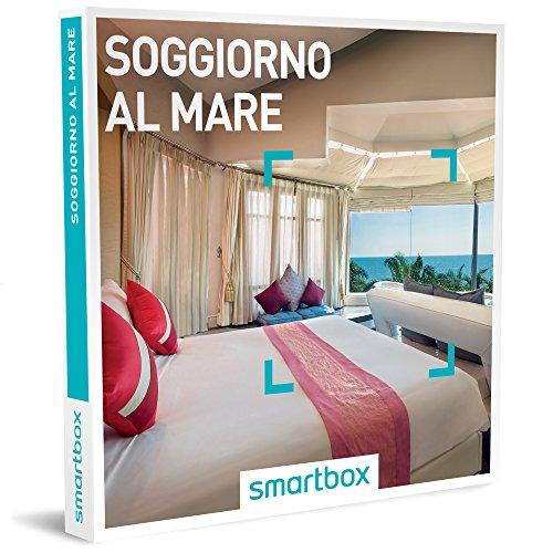 SMARTBOX - Cofanetto regalo coppia - idee regalo originale - 2,3, o 4 giorni al mare con possibilità di cena e benessere