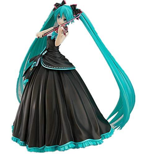 From HandMade Neue Hatsune Miku Figur Miku Violine Figur Anime Girl Figure Action Figure
