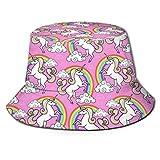 out Men Packable Fischerhüte Sonnenhüte Pink RainbowSummer Herren Damen Fisherman Sonnenkappe Hunting Boonie Hat for Herren Damen Men