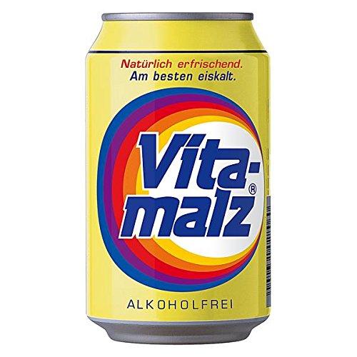 72 Dosen a 0,33L Orginal Vitamalz Malzbier Alkoholfrei Vita Malz inc. 18.00€ EINWEG Pfand
