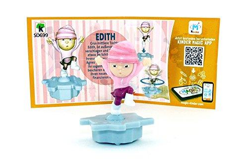 Kinder Überraschung, EDITH Figur (SD699) mit Beipackzettel von den Minions 3