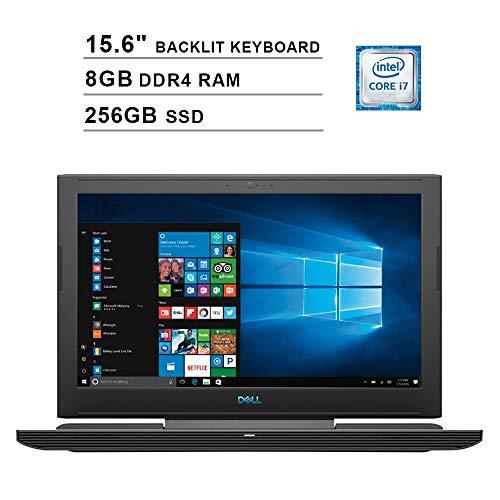 2020 Dell G7 15.6 Inch FHD Gaming Laptop (8th Gen 6-Core i7-8750H up to 4.1GHz, 8GB DDR4 RAM, 256GB SSD, GeForce GTX 1060 6GB, Backlit Keyboard, WiFi, Bluetooth, Windows 10 Home)