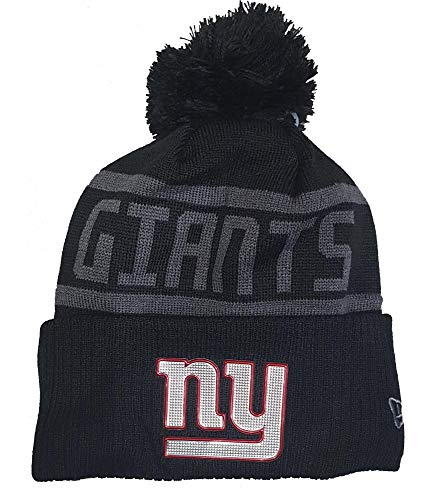 New Era New York Giants Beanie NFL Black Collection Black - One-Size