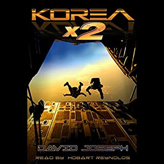 Korea x 2 audiobook cover art