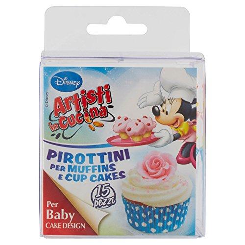 Rebecchi A.C. Wd Pirottini Muffin/Cup Pois - Pacco da 12 x 50 g