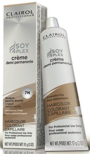 Clairol Professional 7N Medium Neutral Blonde Demi Permanent Hair Color 7N Medium Neutral Blonde