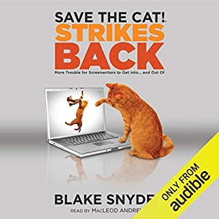 Save the Cat! Strikes Back audiobook cover art