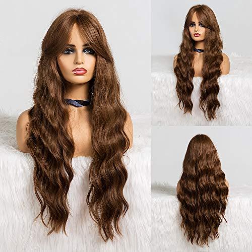 comprar pelucas largas sin flequillo online