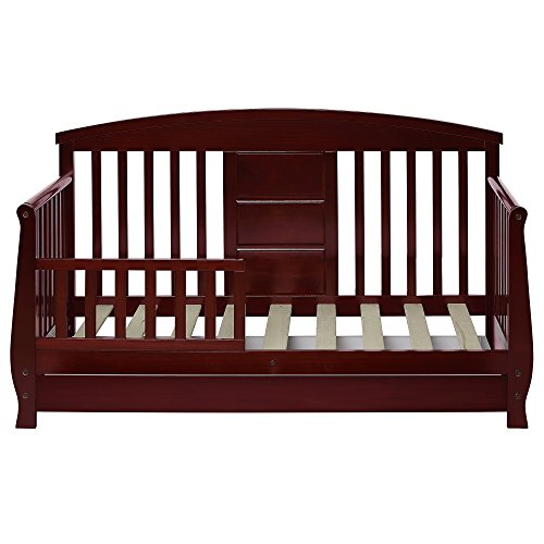 Dream On Me Deluxe Toddler Day Bed, Cherry