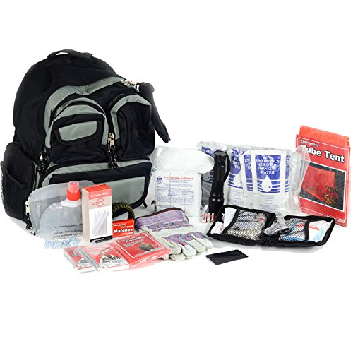Basic 2 Person Bug Out Bag - Emergency Supplies Kit - Food, Shelter, Survival Tools & Gear Pack