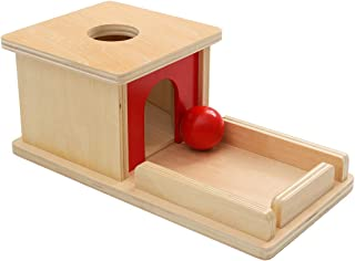 EOFEEL Montessori Materials Object Permanence Box with Tray