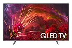 """Your purchase includes One Samsung 8 Series - Flat 65"""" QLED 4K UHD Smart TV, 2018 model, One remote control with battery, One power cable and one user manual. TV dimensions (w/o stand): 57.1"""" W x 32.6"""" H x 2.3"""" D. TV dimensions (with stand): 57.1"""" W ..."""