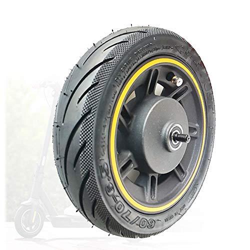 SUIBIAN Elektroroller-Rad-Zubehör, kompatibel mit NINEBOT MAX G30 Scooter-Vorderrad, Original-Vorderradanordnung, Anti-Skid-Reifen + Räder