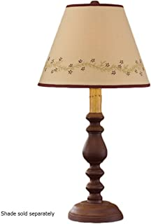 Park Designs Large Red Candlestick Lamp