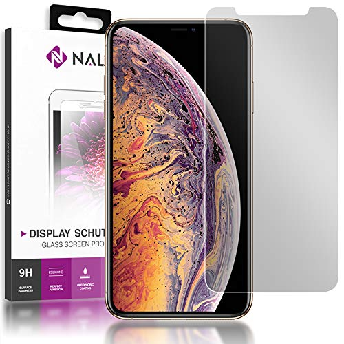 NALIA privacyglas compatibel met iPhone 11 Pro/iPhone X XS, anti-spy privacy glas privacy filter fullcover 9H folie, telefoon veiligheidsglas Screen Protector Volledige scherm scherm afdekking