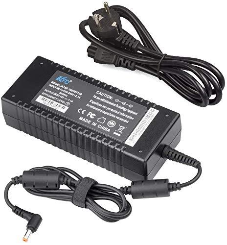 KFD 120W Laptop Netzteil Ladegerät für Asus ROG GL502 F554LA ADP-120ZB BB PA-1121-28 FX504 GL552JX ZX50J N500 N550 N53S G50 N55S N56J N56VM N56VZ Q550LF MSI Gx660r Gx740 CX62 GE62 GE72 E7405 19V 7,1A
