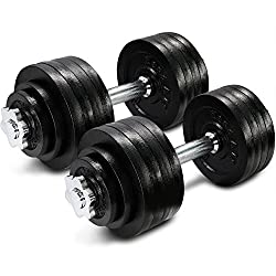 Buy Yes4all Adjustable Dumbbells at Amazon for Best home gym professional equipment