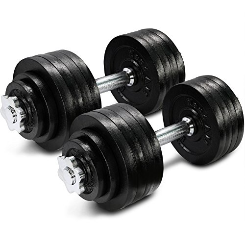 Yes4All Rubber Adjustable Dumbbells review