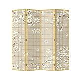 Fine Asianliving El biombo Chino Oriental Japones Biombo Decorativo Separador Biombos de Dormitorio Biombos Diseño...