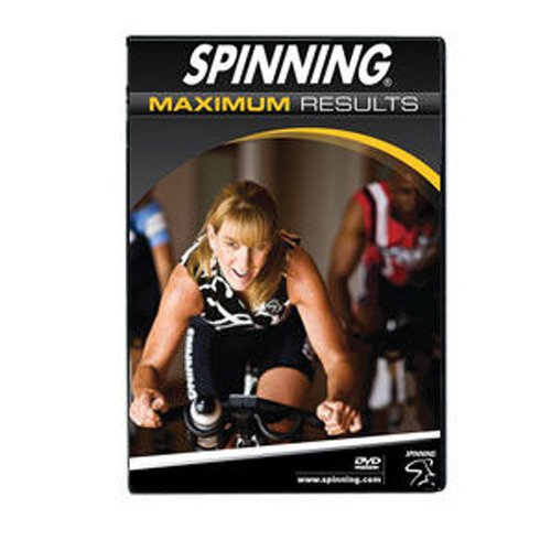 SPINNING® Fitness DVD Maximum Results - Bicicletas estáticas Fitness (tensiómetro, Interior), Color...