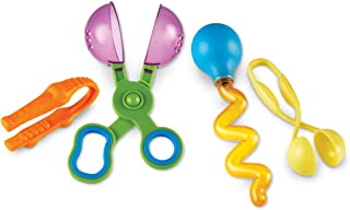 Learning Resources Helping Hands Fine Motor Tool Set, 4 Classic Pieces, Ages 3+