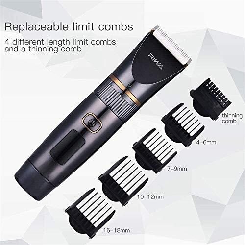 Neushaartrimmer voor mannen Titanium keramische mes lichaam tondeuse professionele tondeuse waterdichte LCD-scherm met een laag geluidsniveau haircutting 0 elektrisch scheerapparaat er