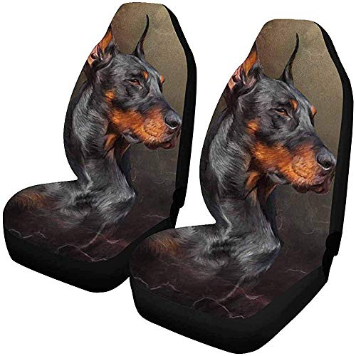 Enoqunt Dobermann Hond autostoelhoezen beschermers