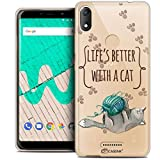 Ultra-Slim Case for 6 Inch Wiko View Max, Quote Life's