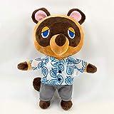 YYhkeby Animal Crossing Llush Toy, Almohada de Abrazos de algodón de Peluche Suave Premium, Lindo Oso Relleno Muñecas Muñecas Juguetes Suave, Hermosos Regalos para niñas, niños (28cm) Jialele