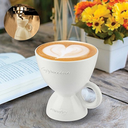 Thumbs Up Tasse Multi Coffee Cup (Barbuzzo), Kunststoff, weiß, 12 x 13 x 12 cm